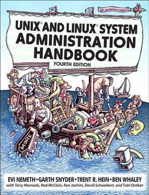 UNIX and Linux System Administration Handbook 3D Front View